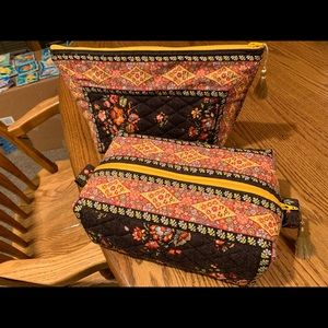 Vera Bradley Retired Placemat Zip Bags Handmade